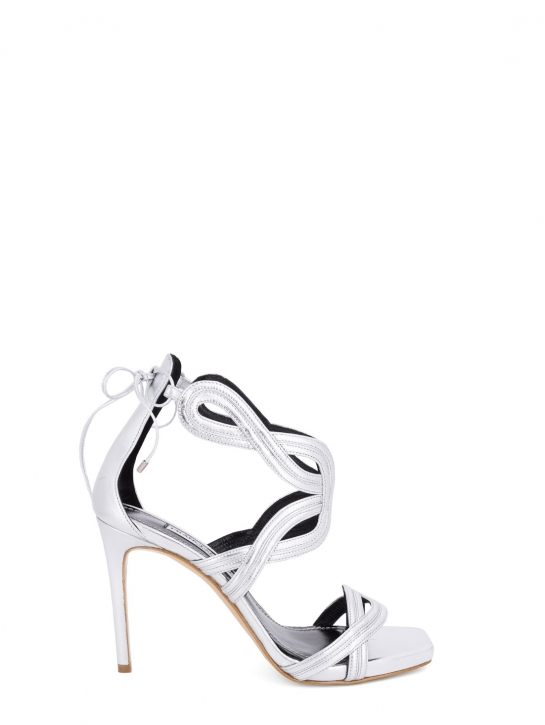 FRANCESCO SACCO Sandalo laminato elegante