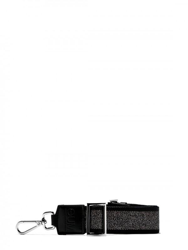 GUM by Gianni Chiarini TWO TONE FABRIC SHOULDER BAG
