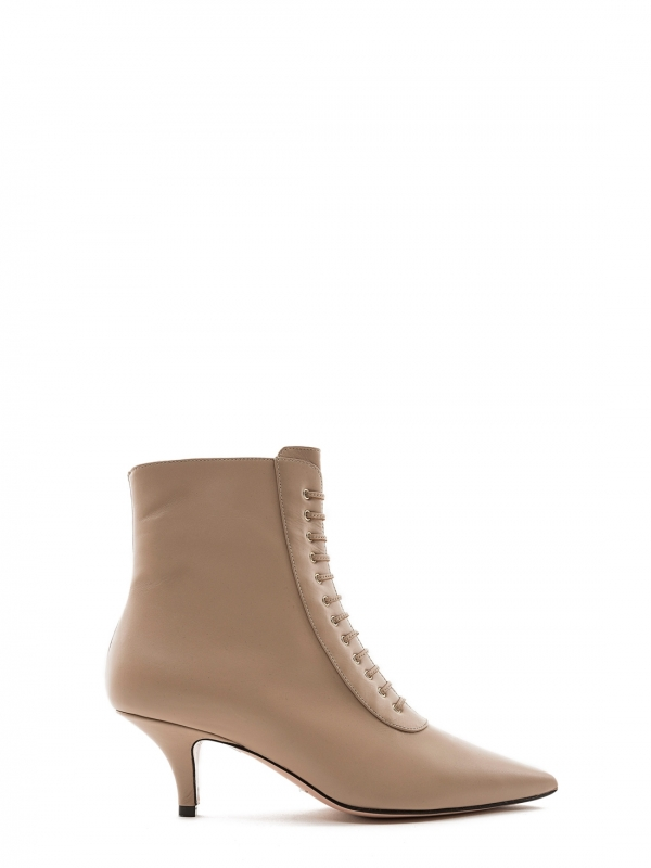ROBERTO FESTA LEATHER ANKLE BOOTS