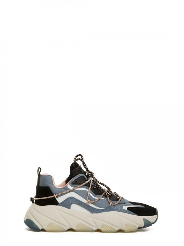 ASH EXTRA01 Sneakers in nylon e pelle